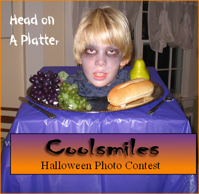 Head on Platter at Coolsmiles