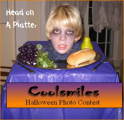 Head on Platter at Coolsmiles