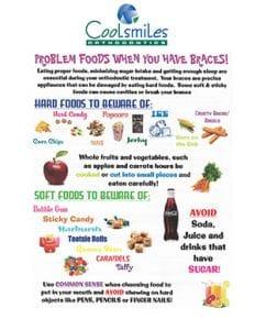 Coolsmiles Food Sheet copy