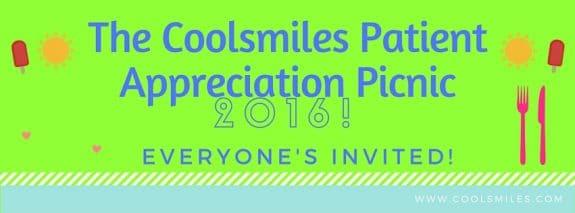 The Coolsmiles Patient Appreciation Picnic!