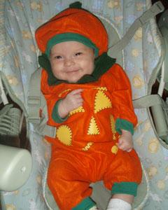 #2 - Pumpkin Baby