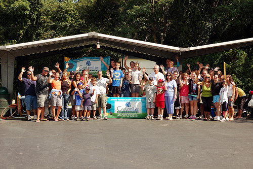 Some Happy Attendees at Coolsmiles 2009 Picnic at Hoyt Farm